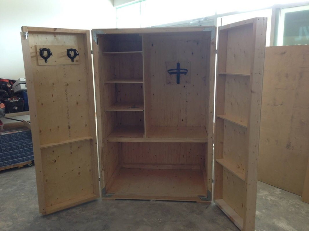 Tack Lockers - B&C Home Improvements